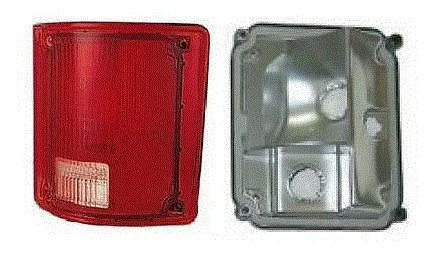 73 - 87 Chevrolet GMC Truck Passenger Taillight Taillamp No Trim Lens and Housing 73-91 Blazer Jimmy Suburban (73 Chevy Truck Taillights compare prices)