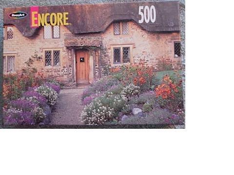 Encore 500 Piece Jigsaw Puzzle - Cotsold Hills Sandy Lane, England