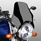 Fly screen Puig Naked black for Honda CB Seven Fifty/ 500/ 1000/ 1300, CB-1, CBF 250/ 500/ 600, Hornet 600/ 900, NTV 650 Revere, VTR 250, X4