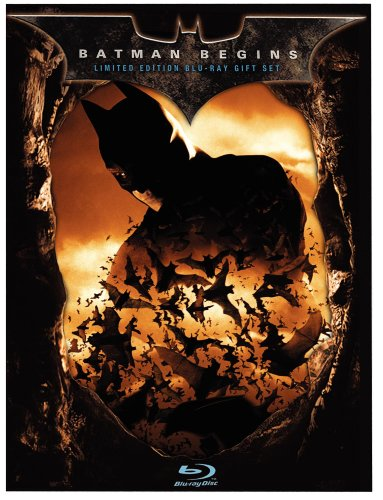 Cover art for  Batman Begins (Limited Edition Gift Set) [Blu-ray]