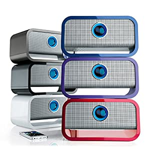 Big BlueTM Studio Wireless Bluetooth Speaker from Brookstone