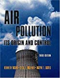 Kenneth Wark Air Pollution: Its Origin and Control