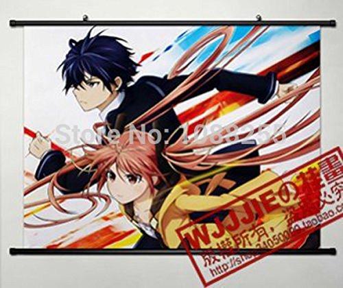 Anime family Anime Black Bullet Home Decor Poster Wall Scroll (Black Bullet Anime Poster compare prices)