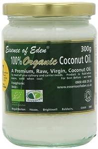 Essence of Eden Premium Organic Coconut Oil 300 g