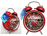 Cars Christmas Alarm Clock - Cars Disney Pixar Children's Clock