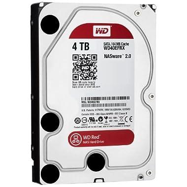 【Amazon.co.jp限定】データ復旧3年保証つき WD Red 3.5inch IntelliPower 4.0TB 64MBキャッシュ SATA3.0 WD40EFRX-DS/N【フラストレーションフリーパッケージ(FFP)】