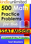 500 Math Practice Problems for the SS...