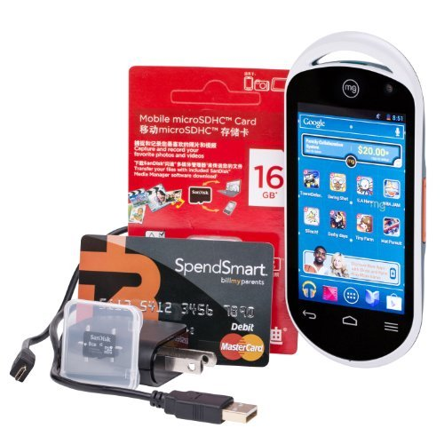 Playmg Mobile Android Entertainment System Bundle With Charger - 24Gb Storage front-596710