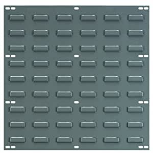 Akro-Mils 30618 Louvered Steel Panel for mounting AkroBins, 18-Inch Wide by 19-Inch High, Grey, Pack of 4
