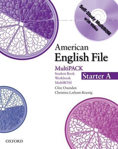 American English File Starter: Student Book/Work Book Multipack A