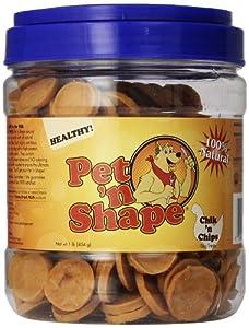 Pet 'n Shape Chik 'n Chips Dog Treats, 16 oz.