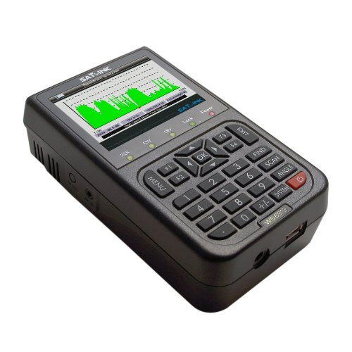 SatLink WS6912 Professional DVB-S2 Digital Data Satellite Signal Finder Meter with Spectrum Analyzer Analyser