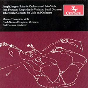Suite for Viola and Orchestra;
