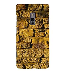 EPICCASE Yellow wall Mobile Back Case Cover For OnePlus 2 (Designer Case)