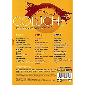 Coluche : Ses plus grands sketches - Coffret 3 DVD