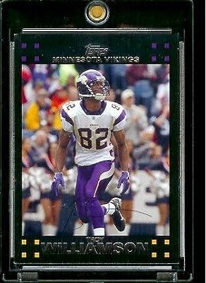 2007 Topps Football # 159 Troy Williamson - Minnesota Vikings - NFL Trading Cards