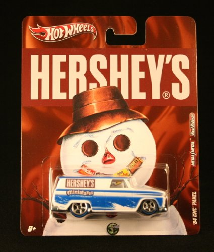 '64 GMC PANEL * HERSHEY'S MINIATURES * Hershey's Hot Wheels 2011 Nostalgia Series 1:64 Scale Die-Cast Vehicle - 1
