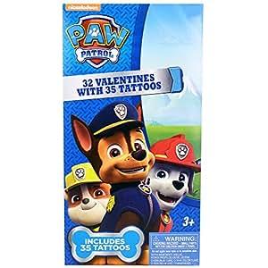 Paw patrol 32 valentines and 35 tattoos for Paw patrol tattoos