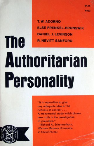analysis of an authoritarian personality
