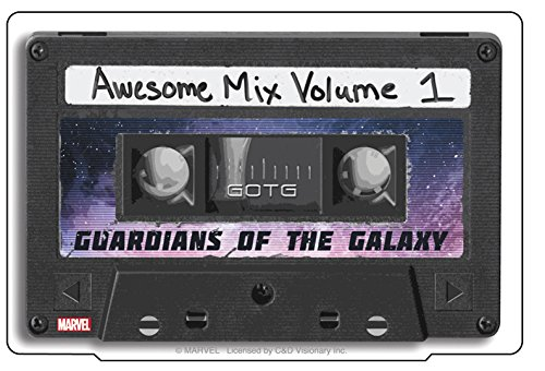 C&D Visionary Guardians of the Galaxy Movie Mix Tape Sticker