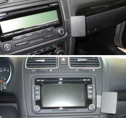 Brodit 854261 ProClip Kfz-Halterung für Volkswagen Golf VI 09-10 (Angled Mount) schwarz