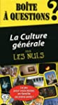 Bo�te � questions - La Culture g�n�ra...