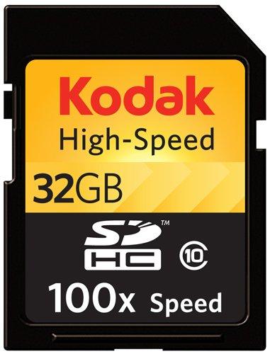 Kodak KSD32GHSBEU100 32GB High Speed SD Card