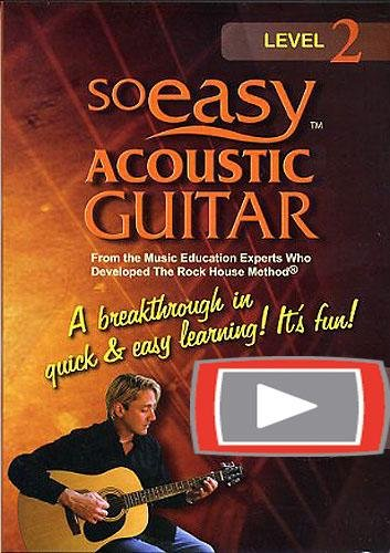 So Easy Acoustic Guitar Level 2