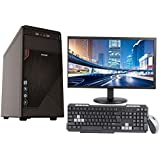"3YRS WARRANTY DESKTOP WITH QUAD CORE CPU / 1GB RAM / 320GB HDD / ATX CABINET WITH 20"" LED DESKTOP PC COMPUTER"