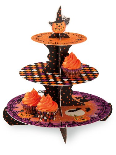 Paper Cupcake Stand, Haunted Halloween