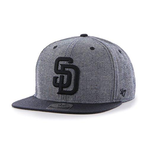 mlb-san-diego-padres-giovanni-captain-adjustable-snapback-hat-navy-one-size