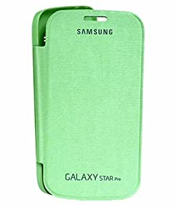 Flip Cover For Samsung Galaxy Star Pro Duos S7262 (Green)