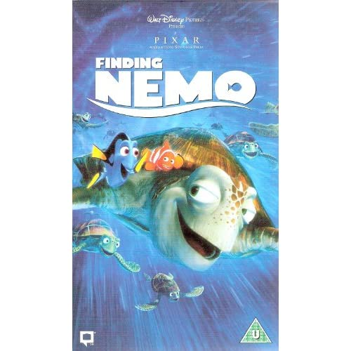 Amazon.com: Finding Nemo [VHS]: Albert Brooks, Ellen DeGeneres
