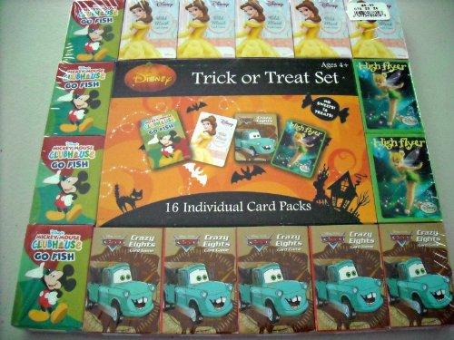 DISNEY TRICK OR TREAT SET - 1