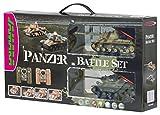 Jamara Panzer Battle Set 1:43 - juguetes de control remoto (Nickel-Metal Hydride (NiMH))