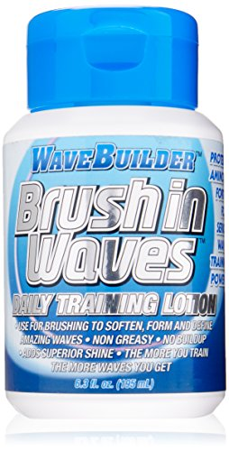 Wave Builder Brush In Waves Daily Training Lotion, 6.3 Ounce