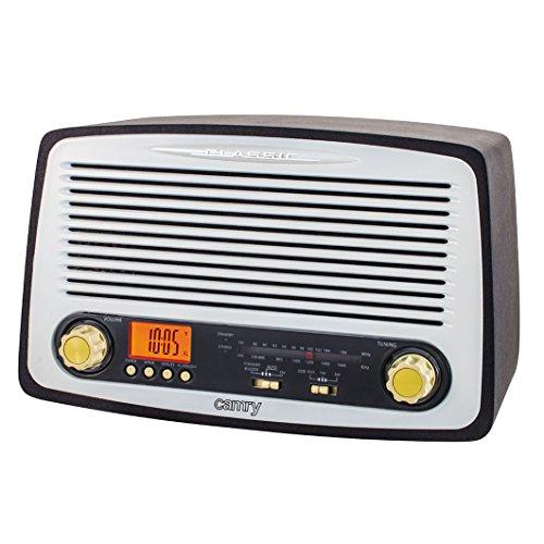 Retro Radio mit USB und SD Kartenslot AM/FM/AUX IN Wecker Nostalgie Design