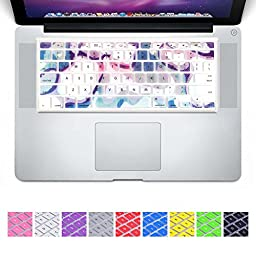 DHZ New Arrival Beautiful Seven Color Lake Keyboard Cover Silicone Skin for MacBook Air 13\