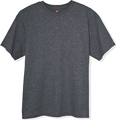 Hanes 6.1 oz. Tagless� T-Shirt - CHARCOAL HEATHER - 2XL