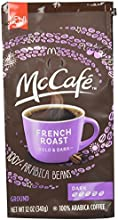 McCafe Coffee Ground Coffee French Dark Roast 12 Ounce Pack of 6
