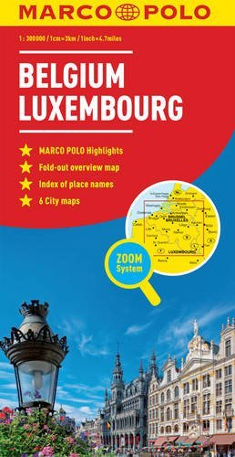 Belgium/Luxembourg Marco Polo Map (Marco Polo Maps)