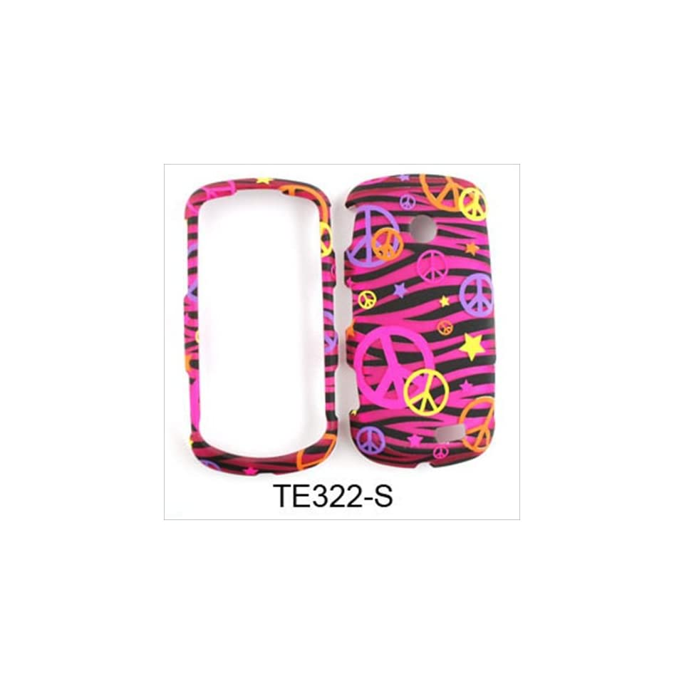 For Samsung Solstice II A817 Case Cover   Peace Signs Pink Zebra Stars Rubberized Pink Yellow Orange Purple TE322 S