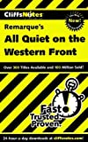 Image of CliffsNotes on Remarque's All Quiet on the Western Front (Cliffsnotes Literature Guides)