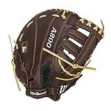Wilson Showtime First Base Baseball Gloves, Brown/Blonde, 11.5