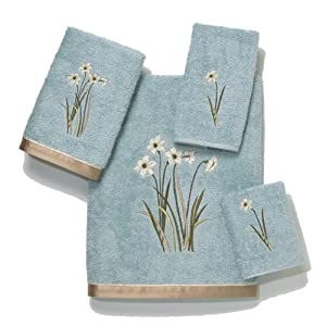 Avanti Linens Avanti Premier Secret Garden 4-Piece Towel Set, Seaglass at Sears.com