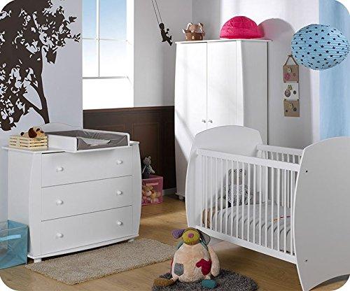 Babyzimmer komplett Medea weiß günstig kaufen
