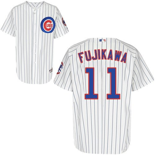Kyuji Fujikawa Chicago Cubs Home Authentic Jersey by Majestic Select Jersey Size: 44 - Large at Amazon.com