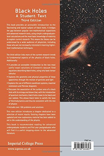 Black Holes: A Student Text (3Rd Edition)