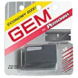 Gem Personnal Single Edge Stainless Steel Blades With Used Blade Vault, 10-Count Packages (Pack Of 4)