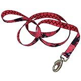 "Coastal Pet Dog Pet Leash 1"" LG Red GWP Sublime Pattern NEW"